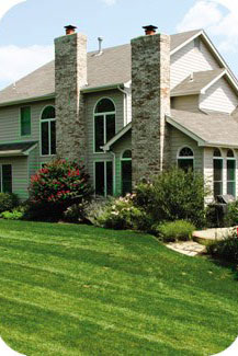 Tennant keeps a lawn mowed and manicured